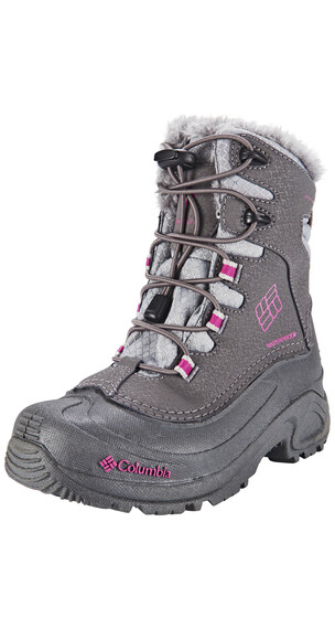 Columbia Bugaboot Plus III Boots Youth Omni-HEAT shale / deep blush